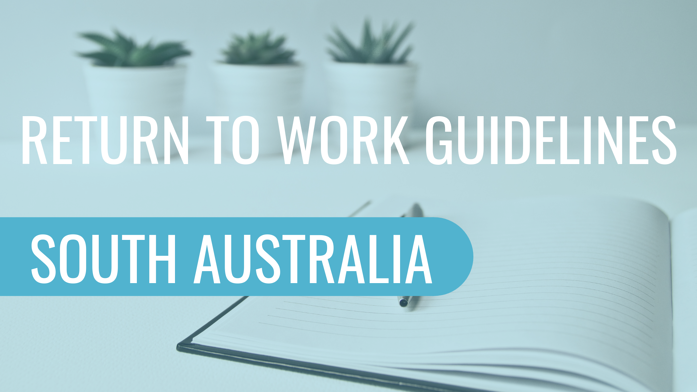 Return To Work Guidelines South Australia The Safety Wellbeing Rehab Experts